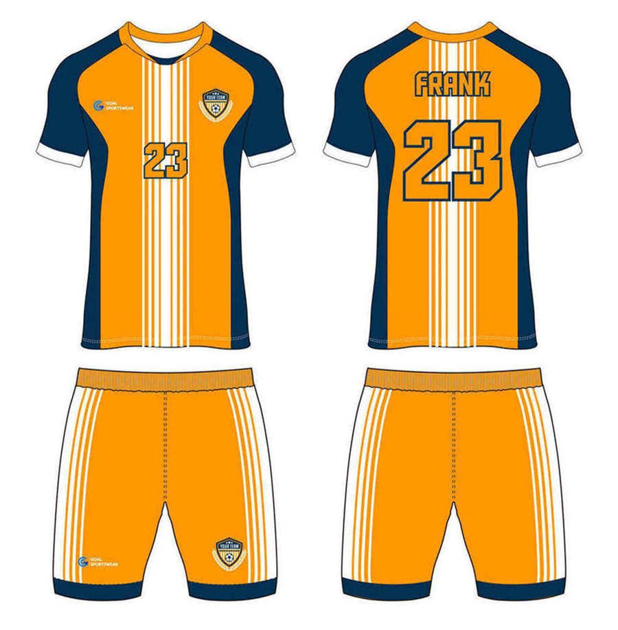 Dye sublimation custom design team custom soccer kits
