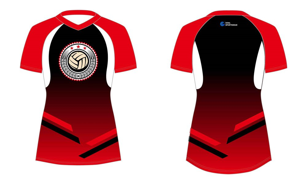 Dye sublimation custom design team sublimated volleyball jerseys