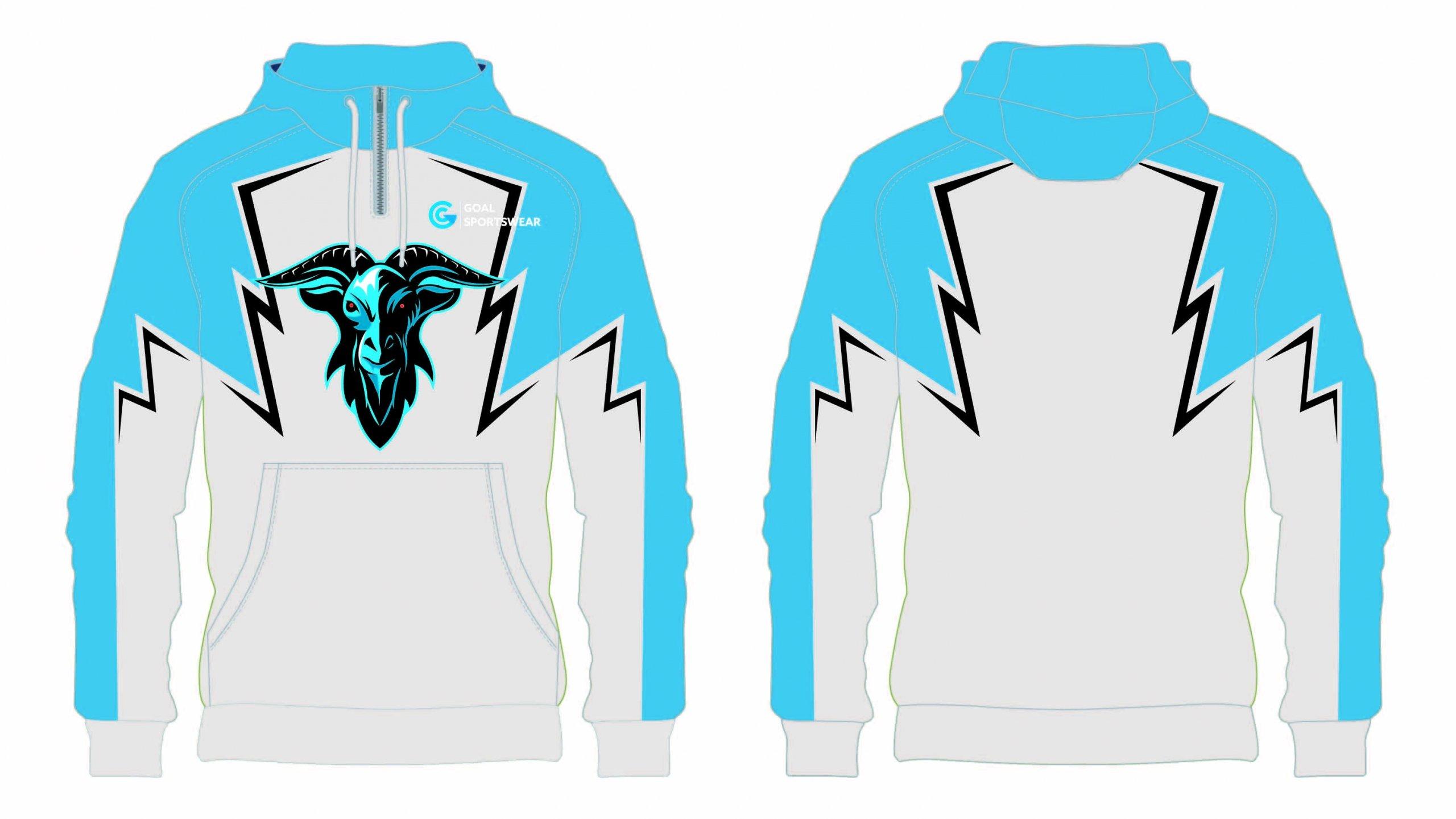 Dye sublimation custom design team wrestling sweatshirts