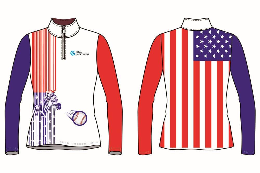 Dye sublimation printing Custom design youth Custom Baseball jackets
