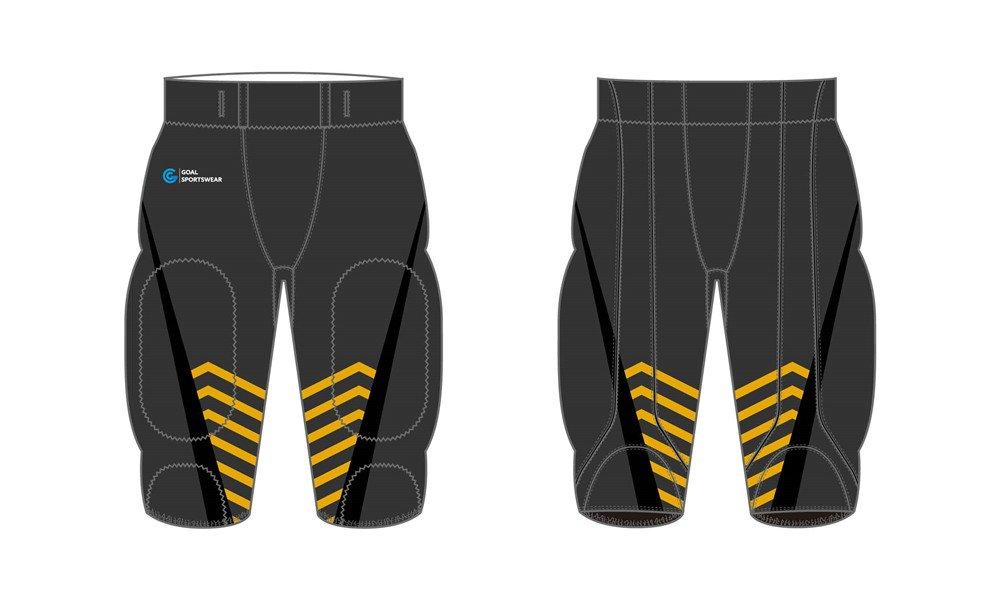 Dye sublimation printing Custom design youth Sublimated Football Pants
