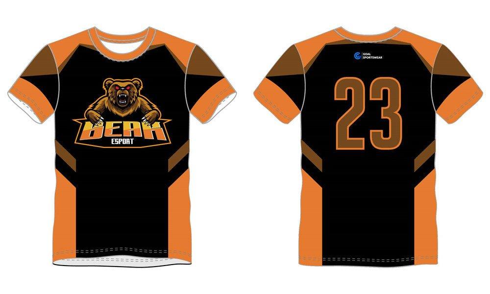 Dye sublimation printing Custom design youth custom basketball warm up shirts