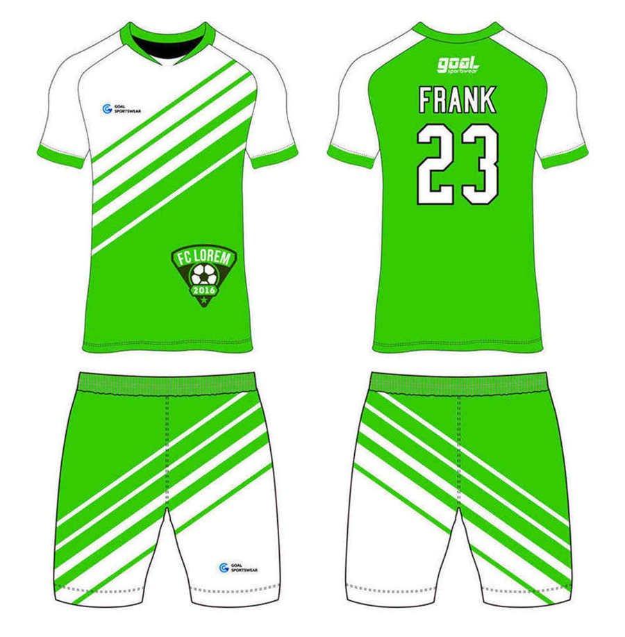 Dye sublimation printing Custom design youth custom soccer tops