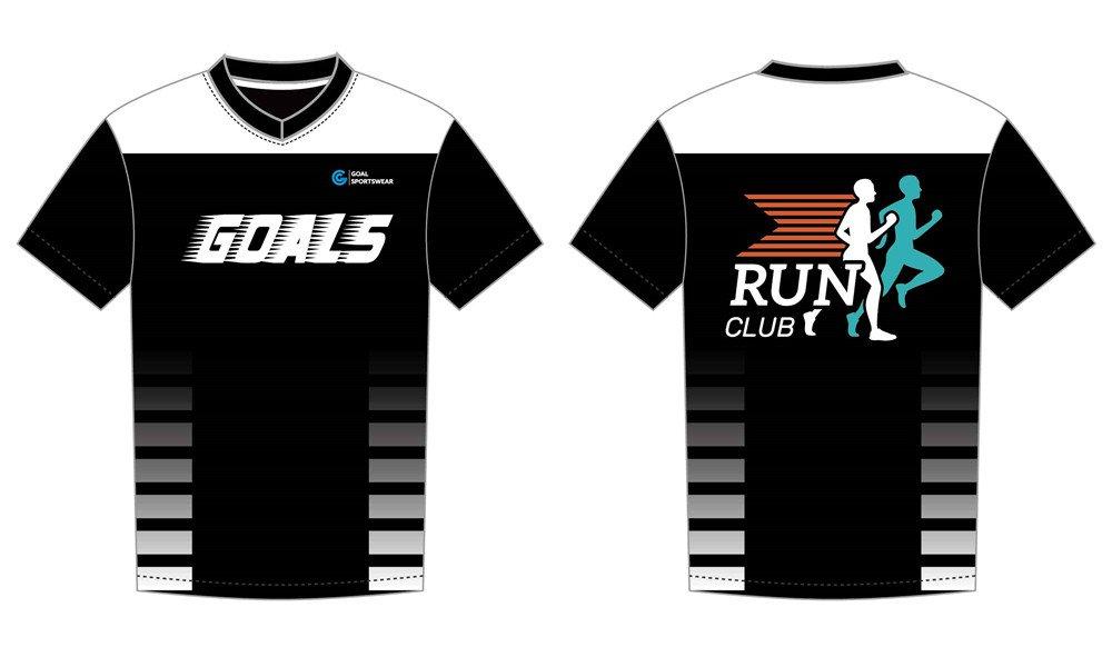 Dye sublimation printing Custom design youth sublimated running shirts