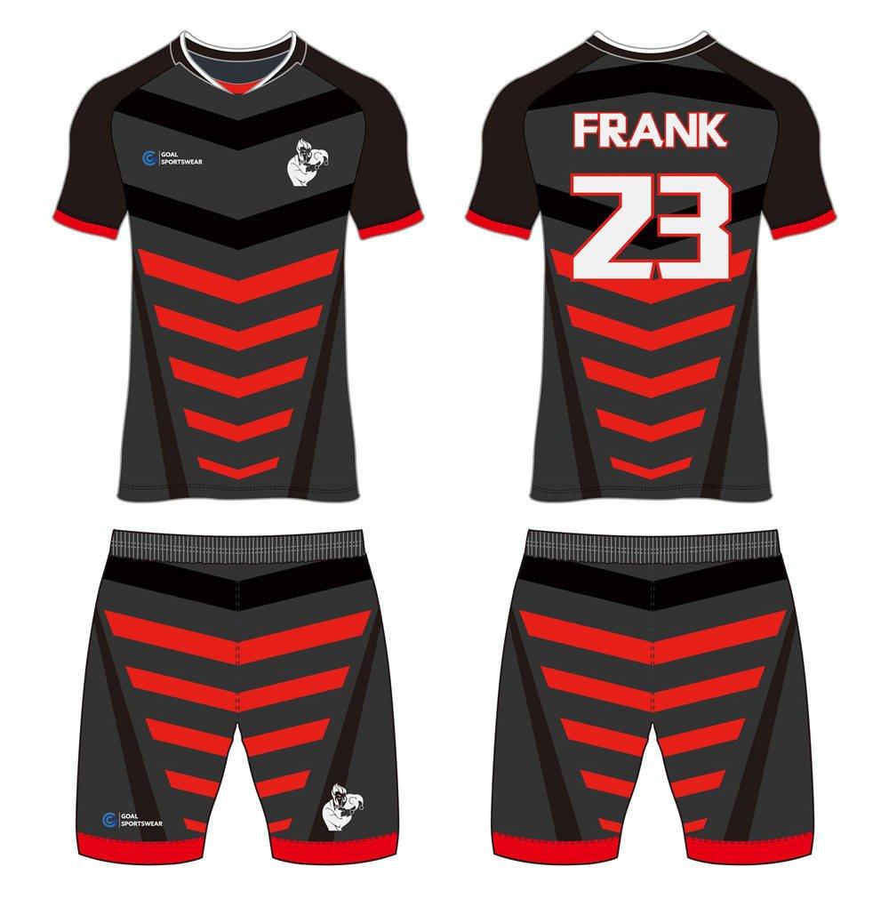 Dye sublimation printing Custom digital camo design custom soccer kits