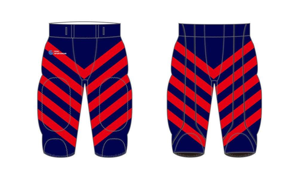 Dye sublimation printing custom design full polyester Sublimated Football Pants