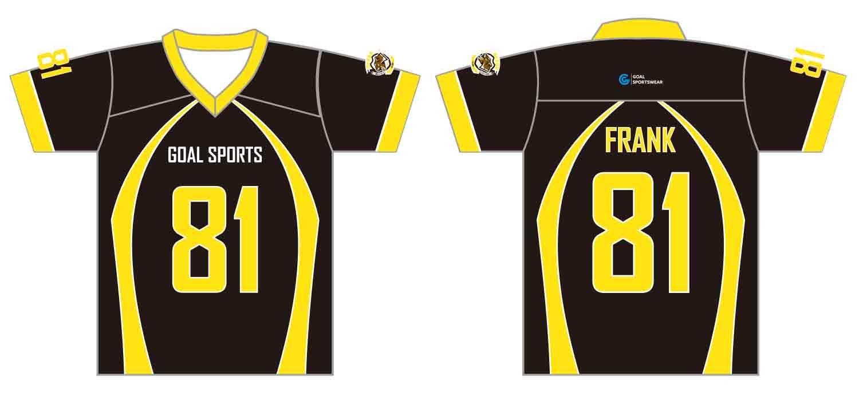 Dye sublimation printing custom design full polyester custom lacrosse Shirts