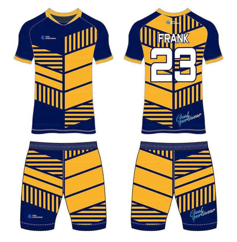 Dye sublimation printing custom design full polyester custom soccer kits