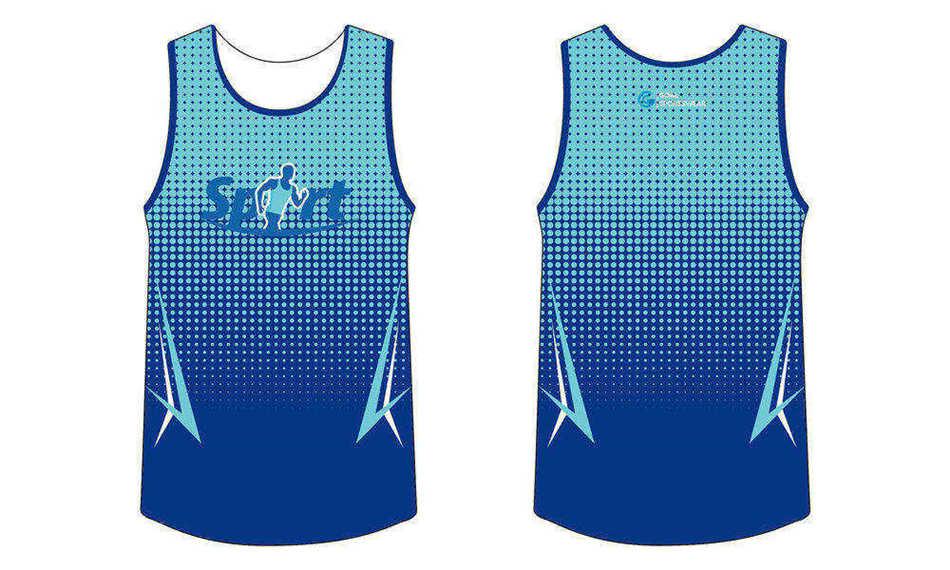Dye sublimation printing custom design full polyester sublimated running shirts