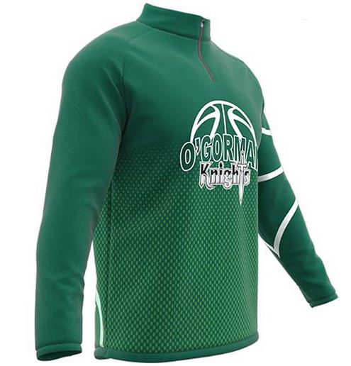 Long sleeve basketball shooting shirt