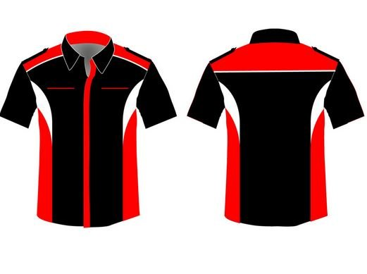 Pit crew shirts design