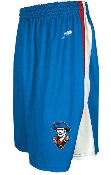Sublimated basketball shorts