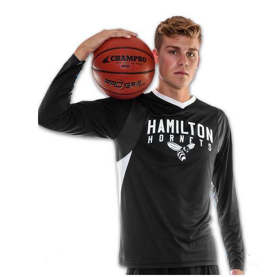 Men basketball shooter shirt