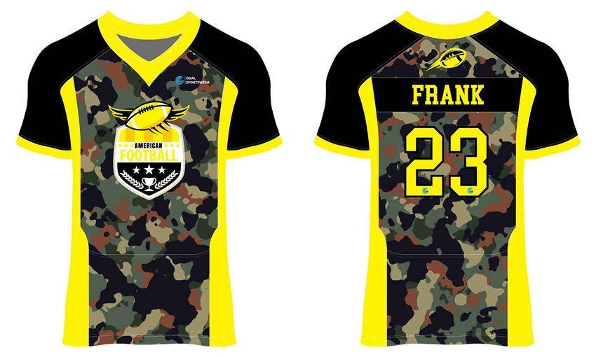 Full Sublimated custom made mens team Custom Football Practice Jerseys