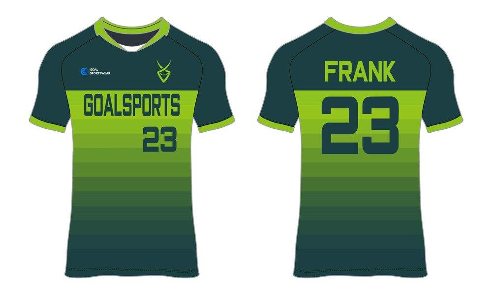 Full Sublimated custom made mens team custom soccer tops