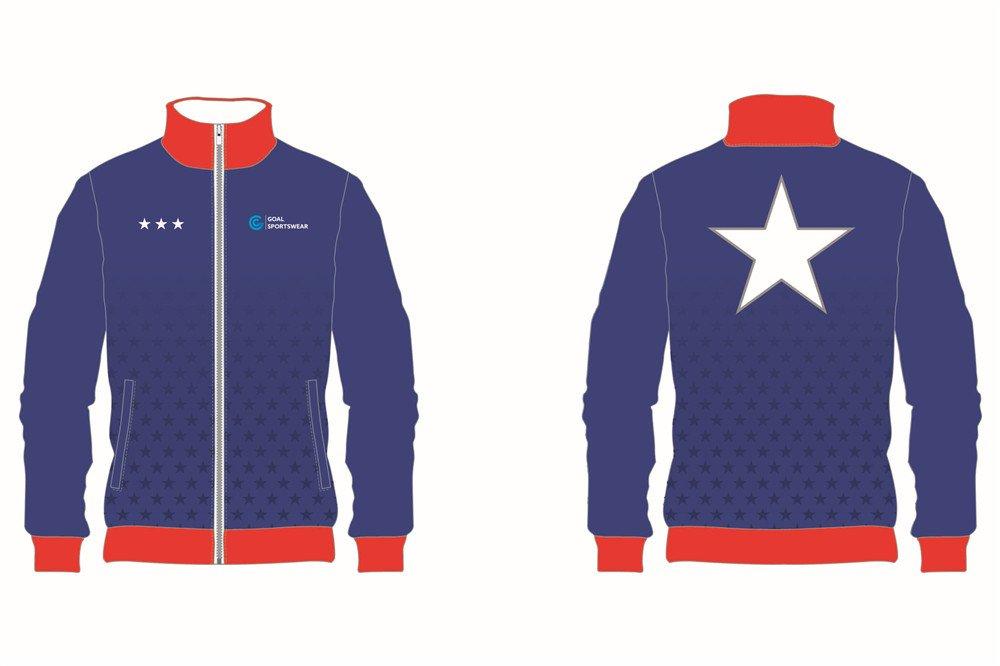 Full dye sublimation printing custom made team Custom Baseball jackets