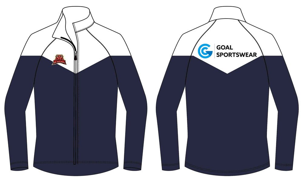 Full dye sublimation printing custom made team Football Team Jackets