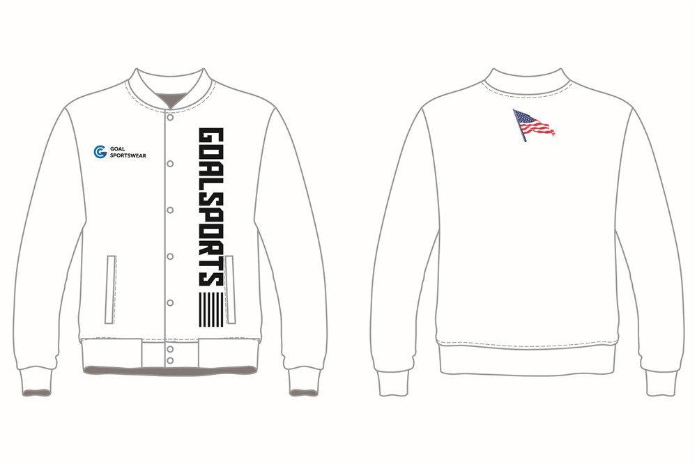 Full dye sublimation wholesale custom Custom Baseball jackets