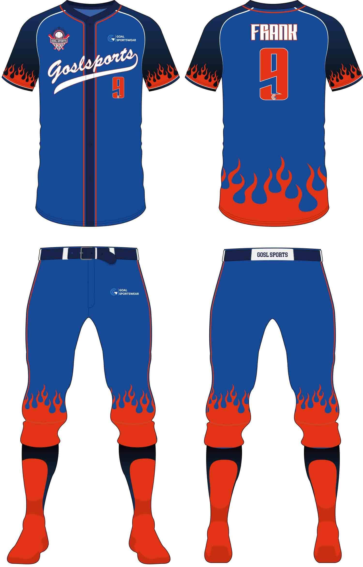 Full dye sublimation wholesale custom Custom Youth Softball Uniforms