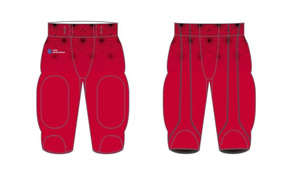 Full dye sublimation wholesale custom Sublimated Football Pants