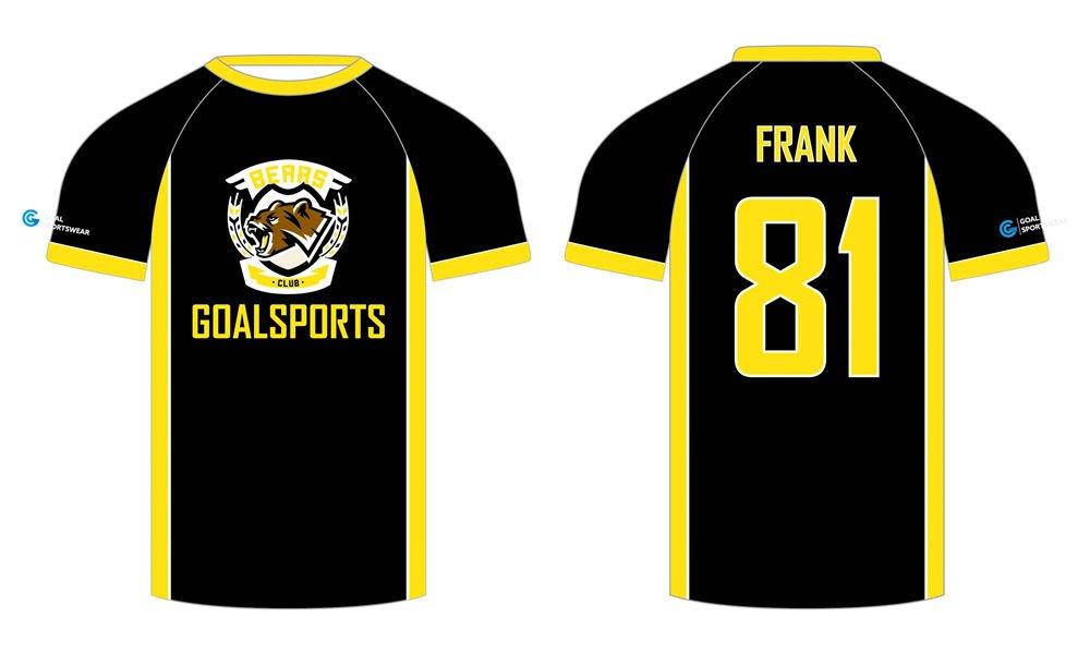 Full dye sublimation wholesale custom custom lacrosse shirts