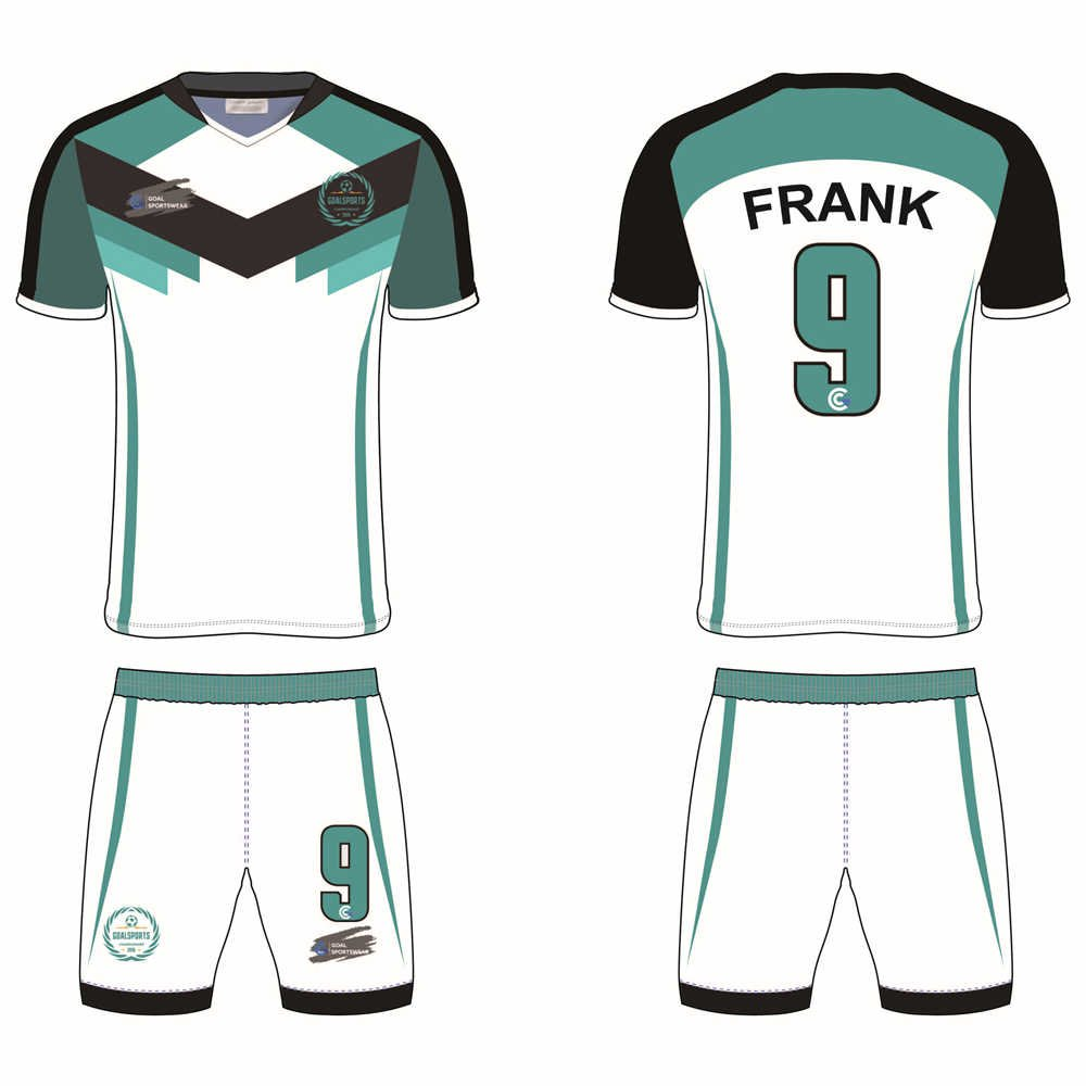 Full dye sublimation wholesale custom custom soccer kits