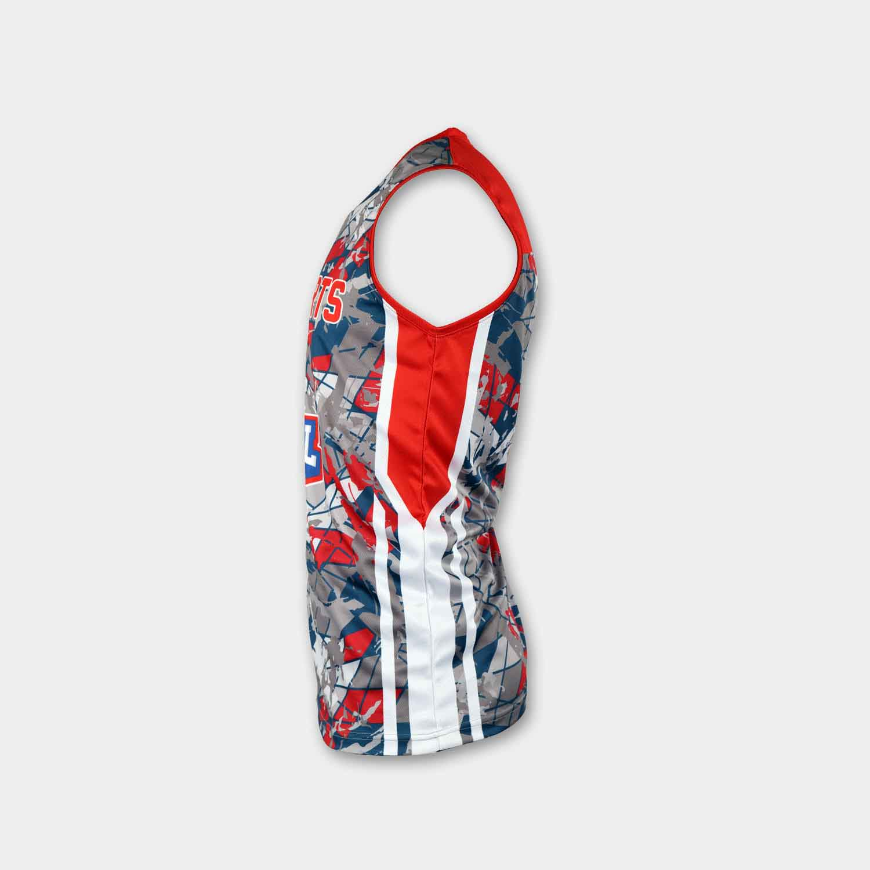 Full dye sublimation wholesale custom reversible basketball jerseys