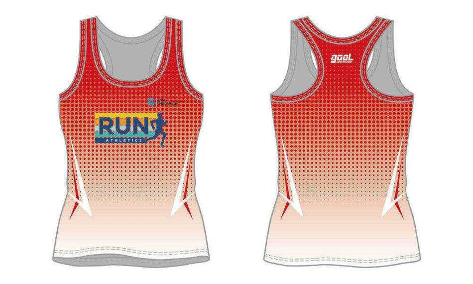 Full dye sublimation wholesale custom sublimated running shirts