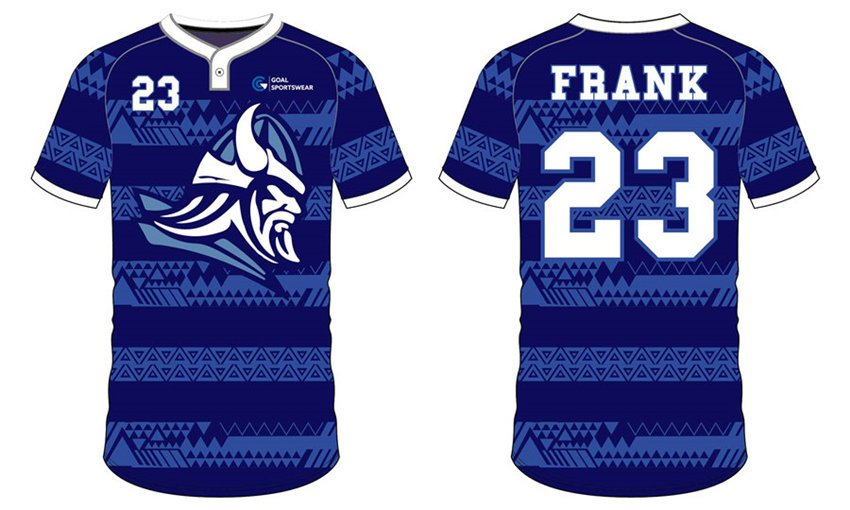 Full polyester Custom made durable mens team Custom Mens Softball Jerseys