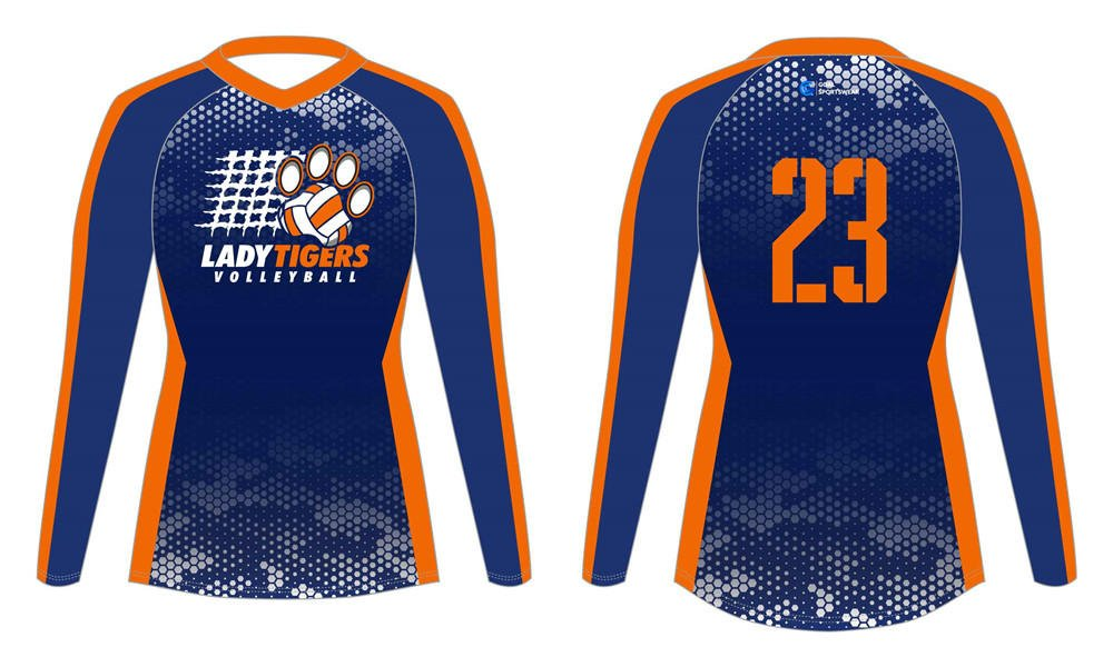 Full polyester Custom made durable mens team sublimated volleyball jerseys