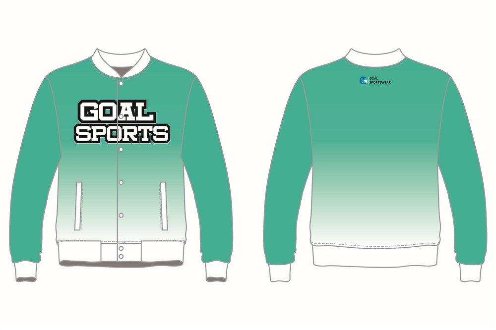 Full polyester breathable custom design sublimated Custom Baseball jackets
