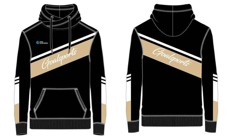 Full polyester breathable custom design sublimated custom Soccer Hoodies