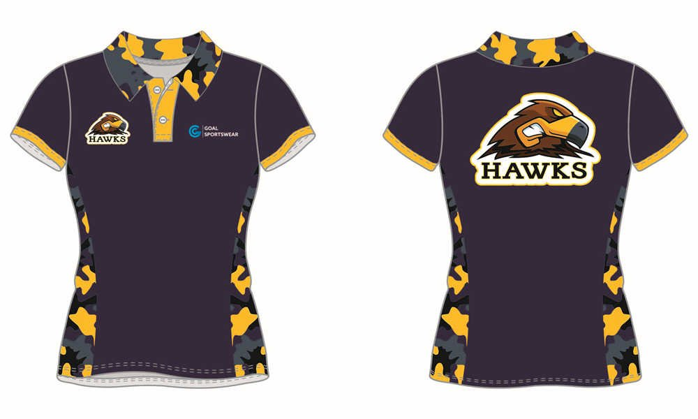 Full polyester breathable custom design sublimated darts polo shirts