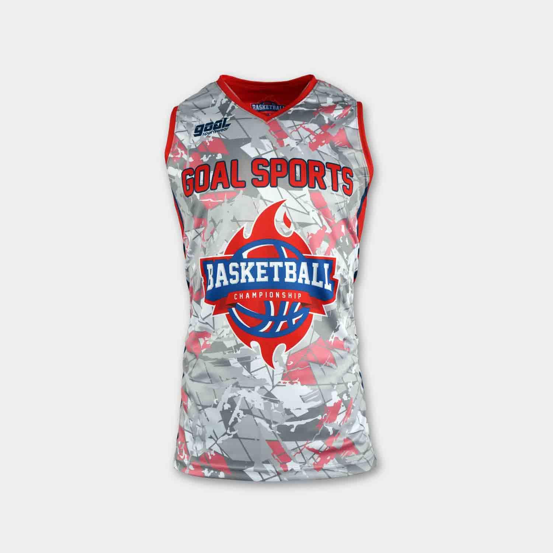 Full polyester breathable custom design sublimated reversible basketball jerseys