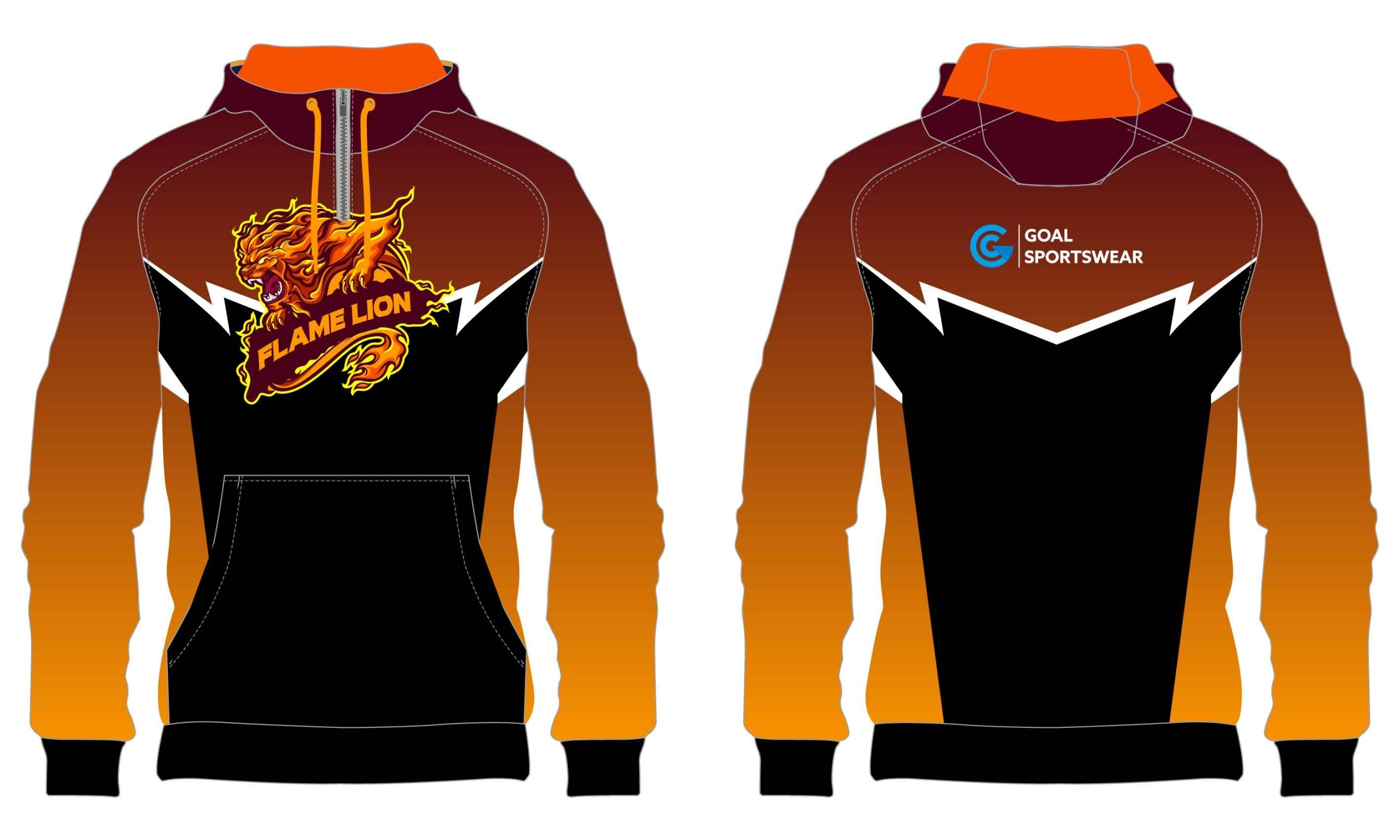 Full polyester breathable custom design sublimated wrestling sweatshirts