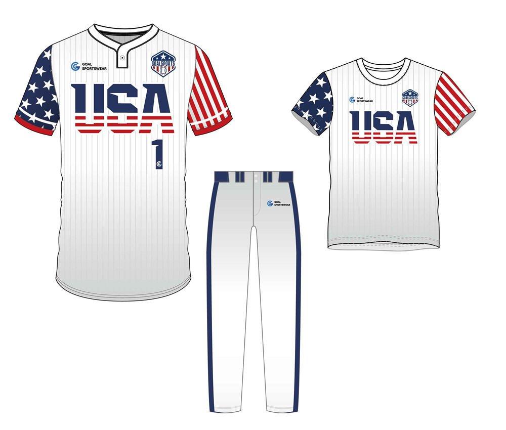 Full polyester durable sublimated custom youth team Custom Fastpitch Softball Uniform