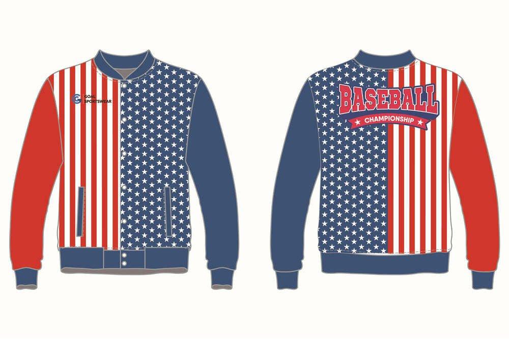 Full polyester durable sublimated custom youth team Football Team Jackets