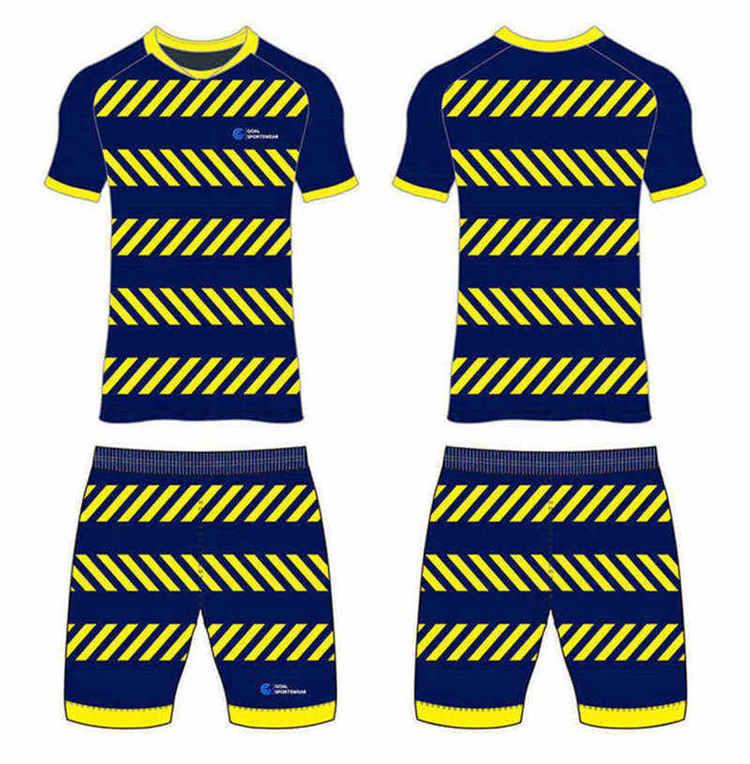 Full polyester durable sublimated custom youth team custom soccer kits