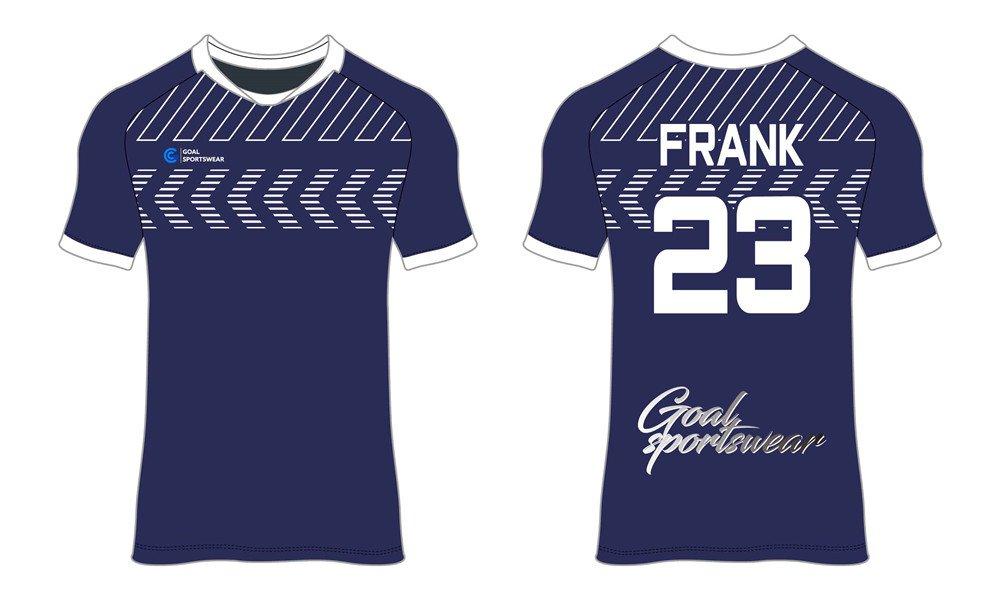 Full polyester durable sublimated custom youth team custom soccer tops