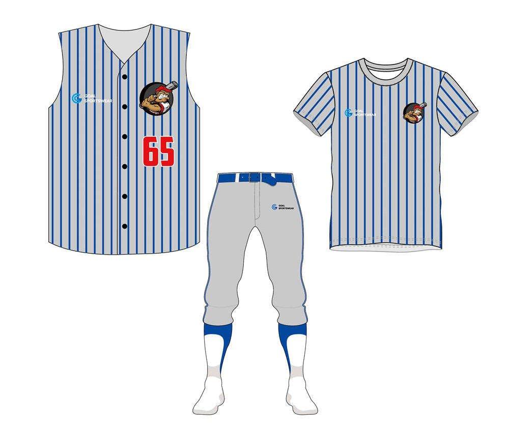High quality 100% polyester sublimation custom design Custom Fastpitch Softball Uniform