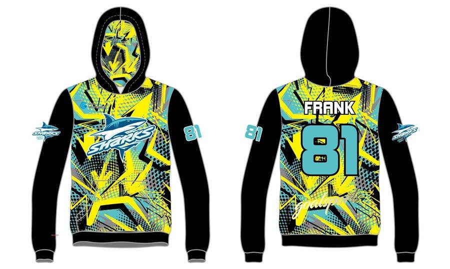 High quality 100% polyester sublimation custom design custom lacrosse hoodies