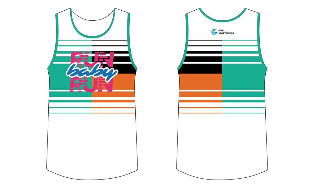 High quality 100% polyester sublimation custom design sublimated running shirts