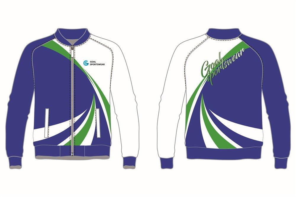 High school custom design sublimated reversible Custom Baseball jackets