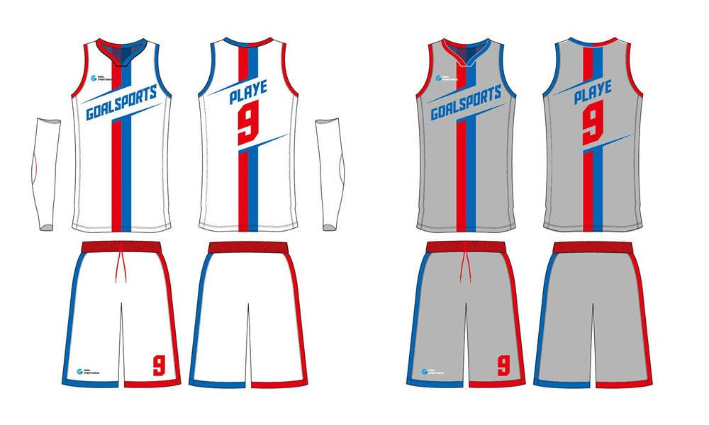 High school custom design sublimated reversible Youth Basketball Uniforms