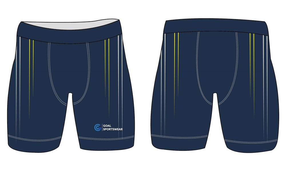 High school custom design sublimated reversible custom spandex shorts