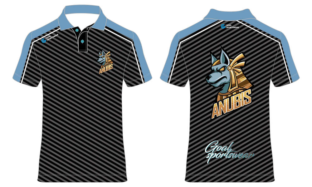 High school custom design sublimated reversible darts polo shirts