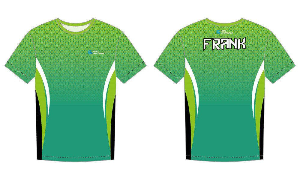 High school custom design sublimated reversible sublimated running shirts