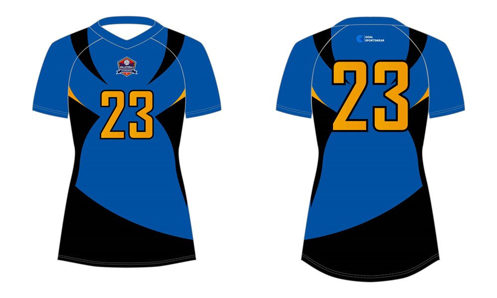 High school custom design sublimated reversible sublimated volleyball jerseys