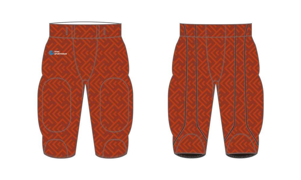 Pro quality sublimation printing custom design team Sublimated Football Pants