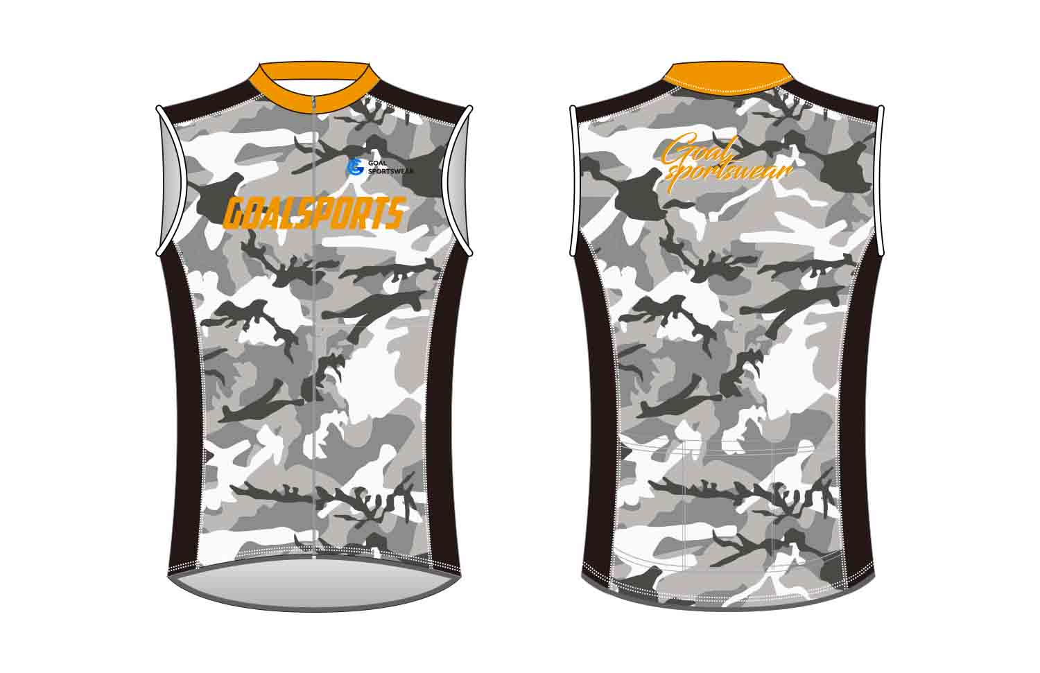 Pro quality sublimation printing custom design team custom Cycling Vest